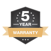 5 Year Kayak Warranty