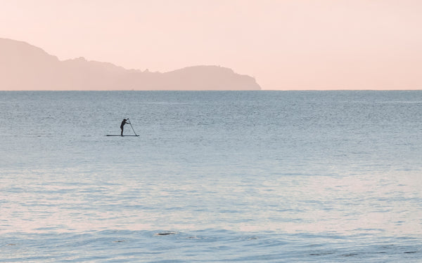 Benefits of surfing on a stand up paddle board