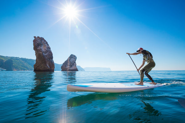 Surf stance stand up paddle board