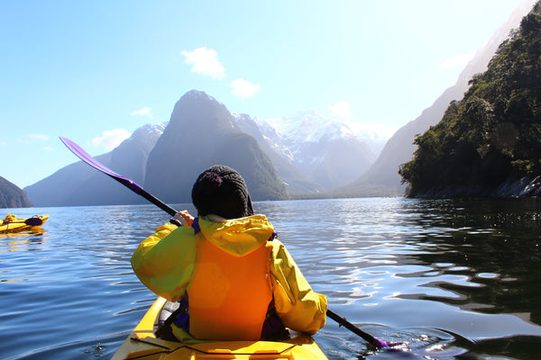 Layers for kayaking in cold conditions