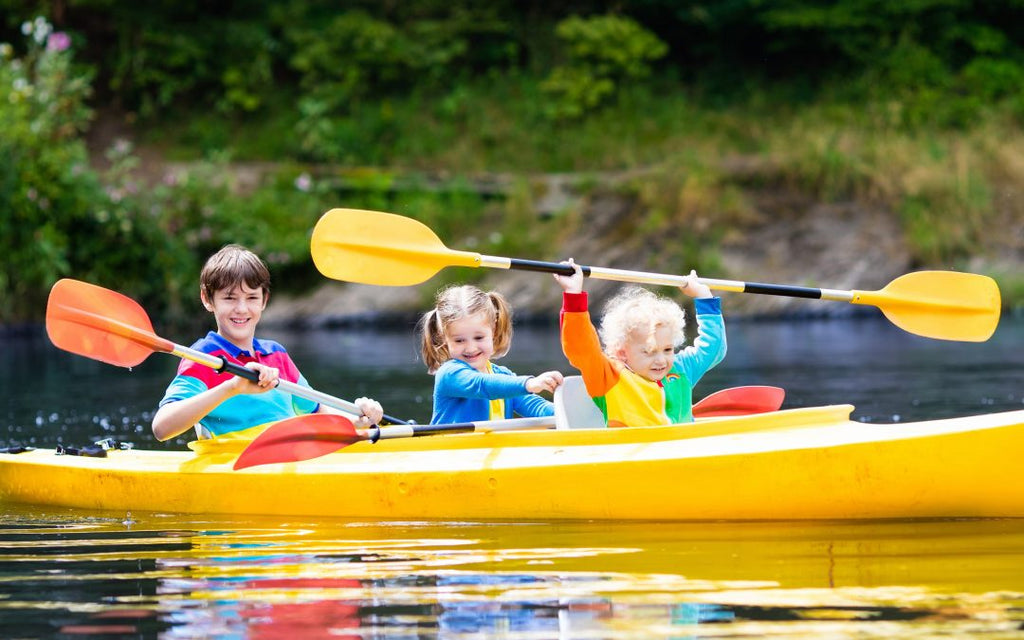 Kayaking with Kids on Water