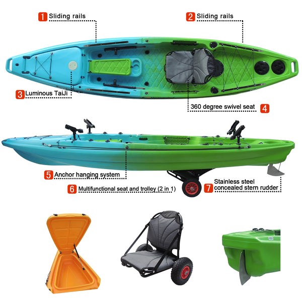 The Kingfish Ultimate Fishing Kayak
