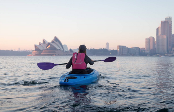 Kayaking on Sydney Harbour