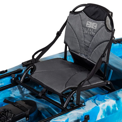 Luxury vantage stadium seat for pedal fishing kayak Bay Sports