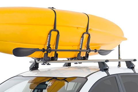 Folding style J-mount carrier for kayak
