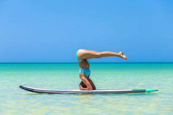 headstand sup yoga