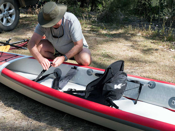 KXone Slider 485 Drop Stitch Inflatable Kayak Inflation Stage 6 Attached Seat