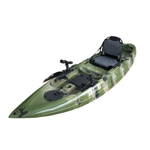 Perch Angler (Adult+Child) - 3.3m Tandem Fishing Kayak-Fishing Kayak-Bay Sports-Sand/Military Green/Black Camo-Bay Sports