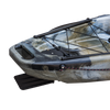 Pedal Pro Fish XL 4m 13ft Pedal Powered FIshing Kayak Jungle Camo Stern Rudder
