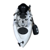 Bighead Angler 2.65m Fishing Kayak Blue Grey White Front Angle