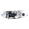 Bighead Angler 2.65m Fishing Kayak Blue Grey White Top View