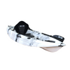 Bighead Angler 2.65m Fishing Kayak Blue Grey White Front Side Angle