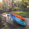 Kayak Trolley For Sit-In Kayak Beach Balloon Wheels All Terrain
