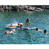 Kids-playing-on-Bay-Sports-SUP-on-lake-