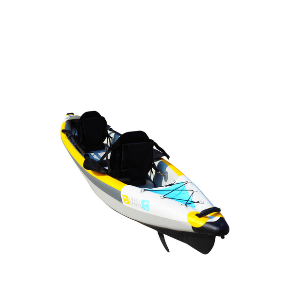 BAY SPORTS Air Glide 473 4.73m Drop Stitch Inflatable Kayak (rear 1 view)