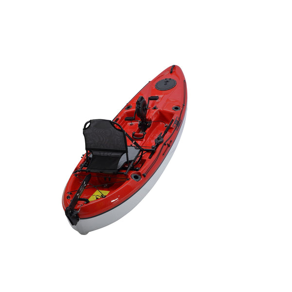 Pedal Pro 315 Superlite - 3.1m Pedal-Powered Fishing Kayak Red back view