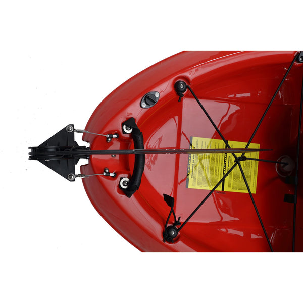 Pedal Pro 315 Superlite - 3.1m Pedal-Powered Fishing Kayak Red rudder