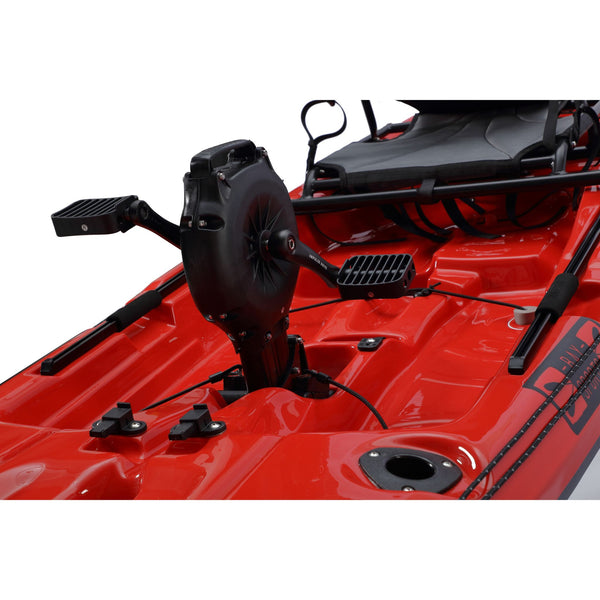 Pedal Pro 315 Superlite - 3.1m Pedal-Powered Fishing Kayak Red pedal