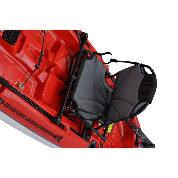 Pedal Pro 315 Superlite - 3.1m Pedal-Powered Fishing Kayak Red seat