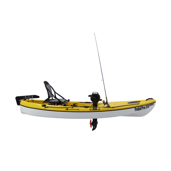 Pedal Pro 315 ABS Superlite  - 3.1m Pedal-Powered Fishing Kayak