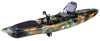 Pedal Pro FishXL 4m 13ft Pedal Powered FIshing Kayak Jungle Camo Front Side