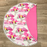 Rainbow Pink Play Mat