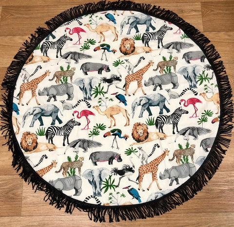 Jungle Safari Play Mat