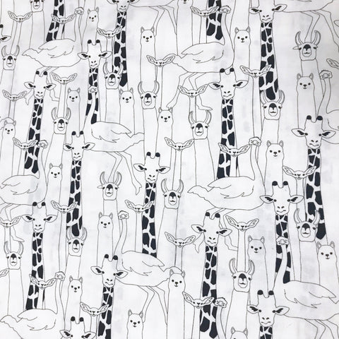 Monochrome Jungle Play Mat