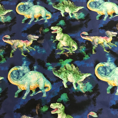 Navy Dino Play Mat