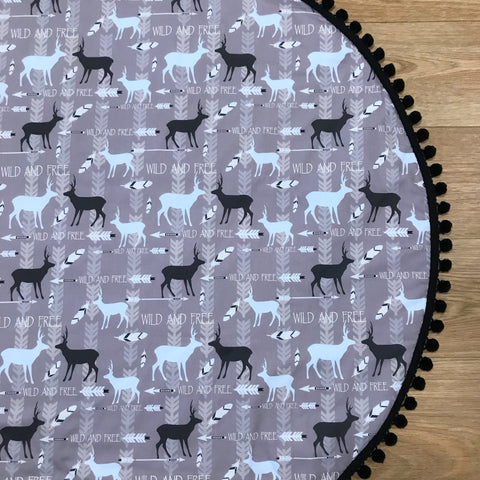 Woodland Deer Play Mat