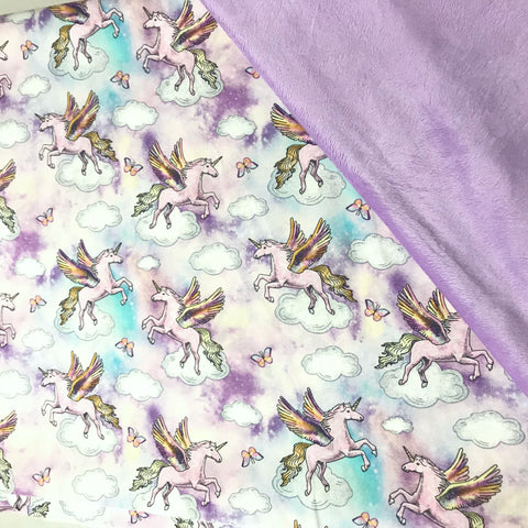 Watercolour Unicorn Blanket
