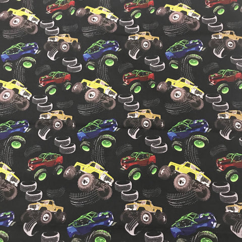 Monster Trucks Play Mat
