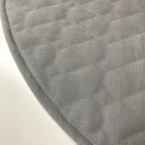 Quilted Grey Play Mat