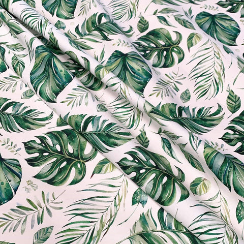 Tropical Leaves Blanket