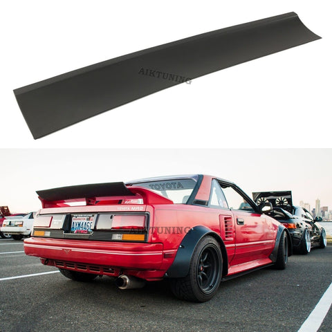 Universal Trunk Spoiler Wing Flap Lid Lip Guerney Flap E30EVO Style
