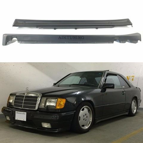 Side Skirts Valance Panels Set (Fits Mercedes Benz C124 W124 Coupe Cabrio AMG)