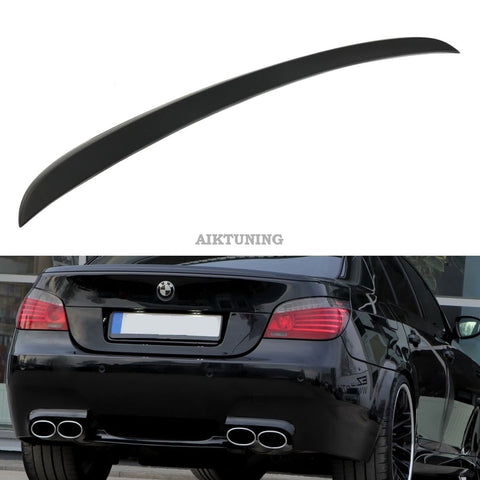 Rear Boot Trunk Ducktail Spoiler Wing Lid Lip (Fits BMW E60 Sedan And M5)