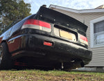 Rear JDM Boot Trunk Ducktail Spoiler Wing Lip (Fits Honda Civic MK6 Coupe)
