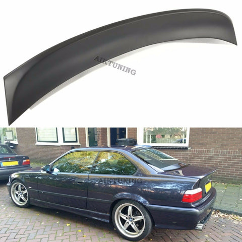 Rear JDM Boot Trunk Ducktail Spoiler Wing Lid Lip (Fits BMW E36 Coupe And CSL)