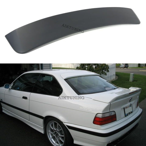 Rear Window Sun Guard Roof Extension Spoiler Cover (Fits BMW E36 Coupe)