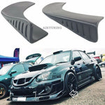 Universal Bumper Front Or Rear Addons Splitter Set Caps Aprons For Any Bumper