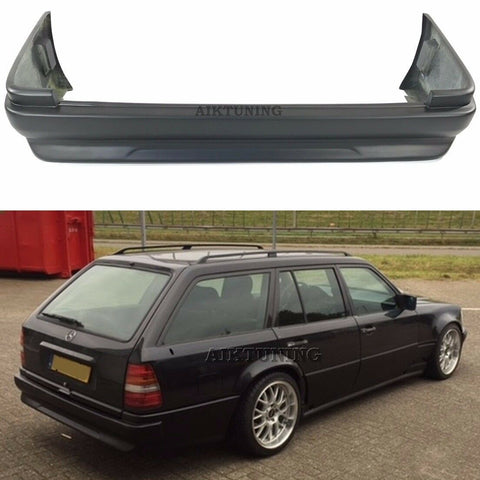 Rear Gen 3 Bumper Spoiler Valance (Fits Mercedes Benz W124 Touring Wagon AMG)