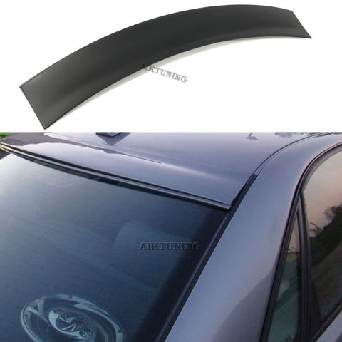 Rear Window Sun Guard Roof Extension Spoiler Cover (Fits Audi A4 B5 1994-2001)