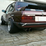 E30EVO Rear Spoiler Wing Trunk Lid Lip Apron Guerney Flap (Fits BMW E30)