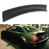 Rear JDM Boot Trunk Ducktail Spoiler Wing Lid Lip (Fits BMW E46 2 Door Coupe)