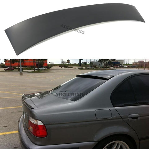 Rear Window Sun Guard Roof Extension Spoiler Cover (Fits BMW E39 Sedan)