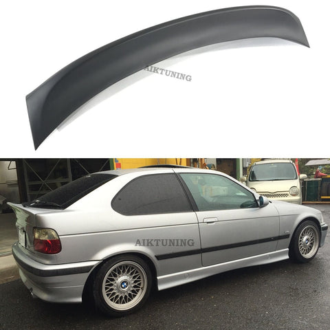 Rear JDM Boot Trunk Ducktail Spoiler Wing Lid Lip (Fits BMW E36 Compact And CSL)