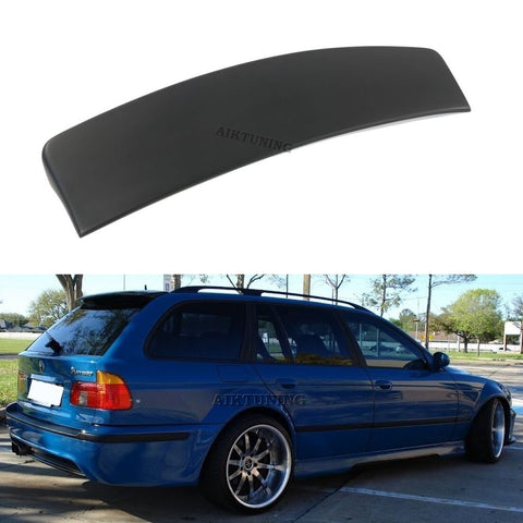Rear Trunk Spoiler Tailgate Lid Lip Wing Ducktail Apron (Fits BMW E39 Touring)