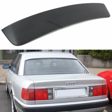 Rear Window Sun Guard Roof Extension Spoiler Cover (Fits Audi 100 C4 Sedan)
