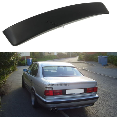 Rear Window Sun Guard Roof Extension Spoiler Cover (Fits BMW E34 Sedan)